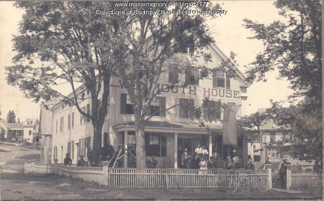 The Weymouth House, Boothbay Harbor, ca. 1895