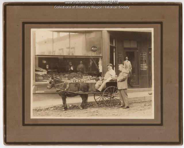 S. Louis Carbone, Boothbay Harbor, ca. 1920