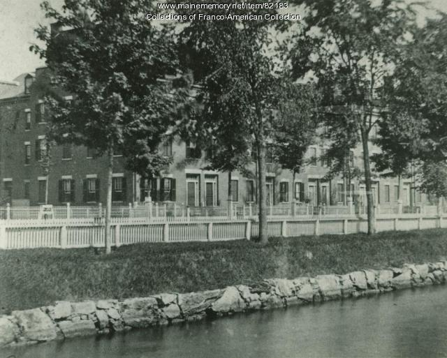 Mill Housing, Canal Street, Lewiston, ca.1880