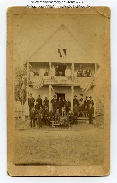 GAR, Goodwin Post #32, Newport, ca. 1886