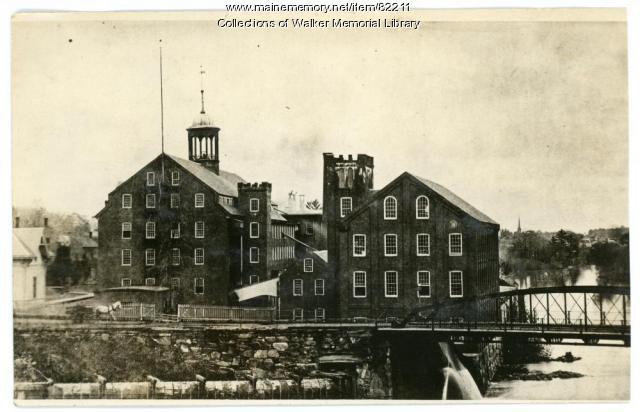 Westbrook Manufacturing Company, Westbrook, ca. 1890
