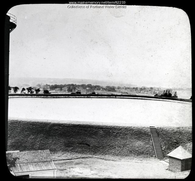 Munjoy Hill Reservoir, Portland, ca. 1921