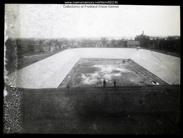 Bramhall Reservoir, Portland, ca. 1902