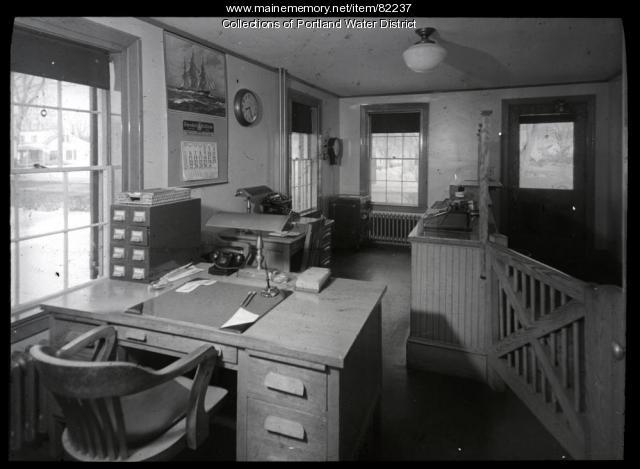 Portland Water District Westbrook Shop, ca. 1941