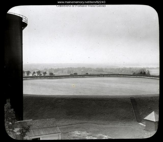 Munjoy Hill Reservoir, Portland, 1921