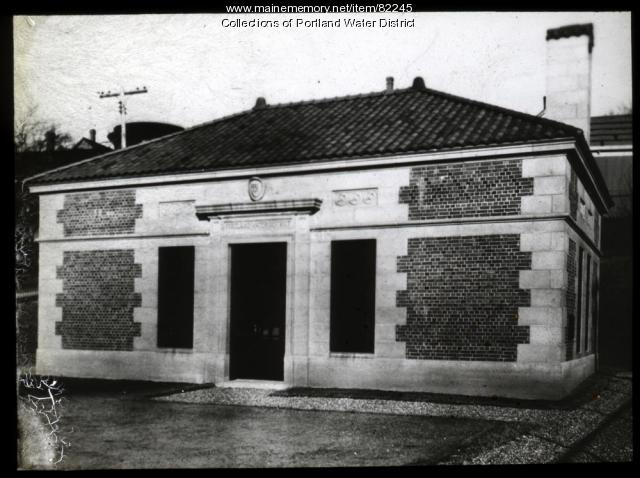Munjoy Hill Pump Station Exterior, Portland, ca. 1931