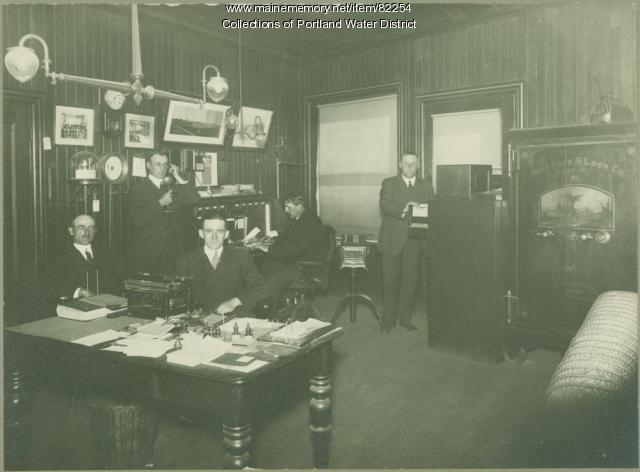 Portland Water District Office, 1915