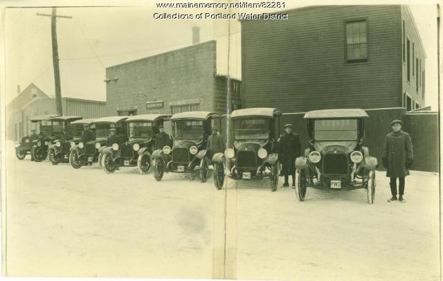 Portland Water District Kennebec Street Garage, 1919