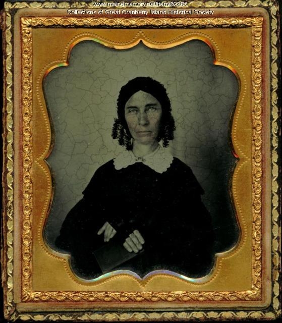 Abigail Cobb Hadlock Spurling Preble, Great Cranberry Island, ca. 1855
