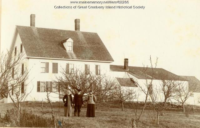 Preble House, Great Cranberry Island, ca. 1895