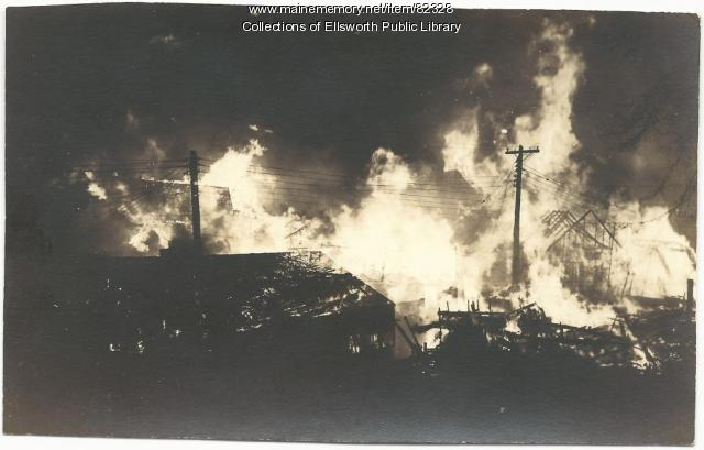 Fire, Ellsworth, 1933