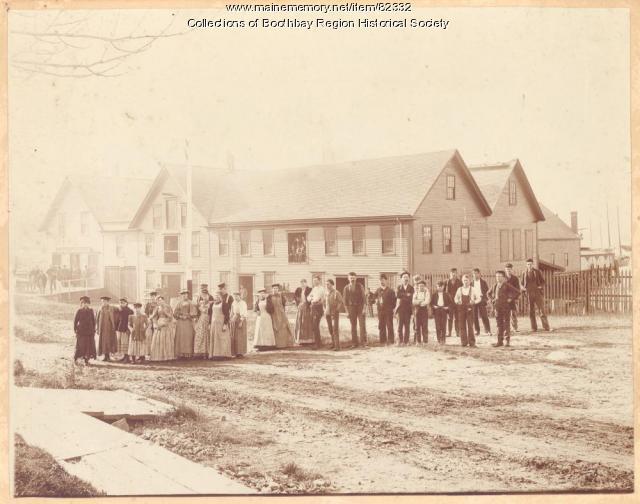 Maddocks Packing Company, Boothbay Harbor, ca. 1900