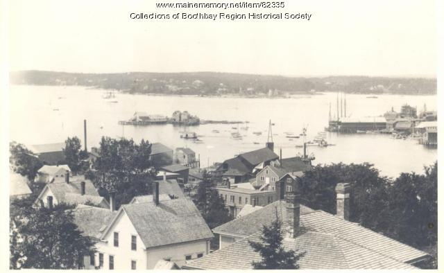 Boothbay Harbor's Harbor Island, ca. 1910