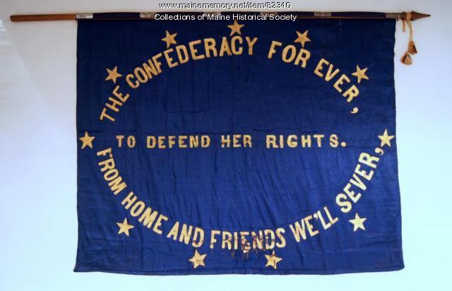 'Confederacy Forever' flag, ca. 1863