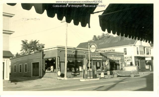 Tydol Station, Main Street, Bridgton, ca. 1938