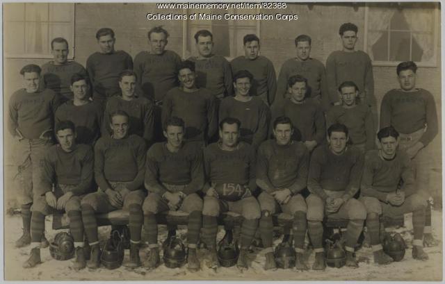 Civilian Conservation Corps Bar Harbor Football Team, 1934