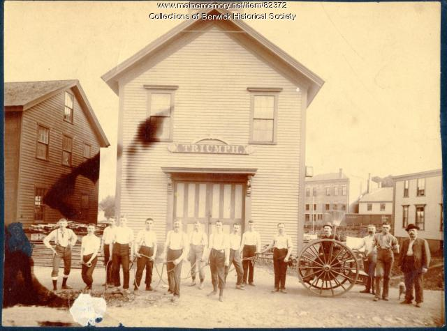 The Berwick Fire Station, ca. 1900