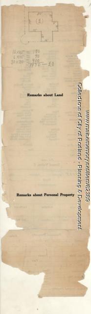Jewett property, Oak Avenue, Peaks Island, Portland, 1924
