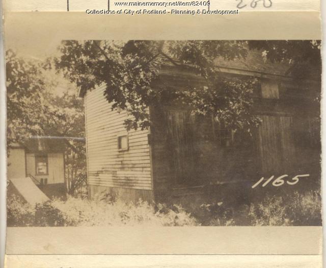 Coburn property, N. Side Oak Avenue, Peaks Island, Portland, 1924
