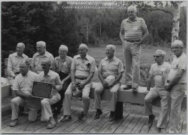 Civilian Conservation Corps 50th Anniversary, Sugarloaf Mountain, 1987