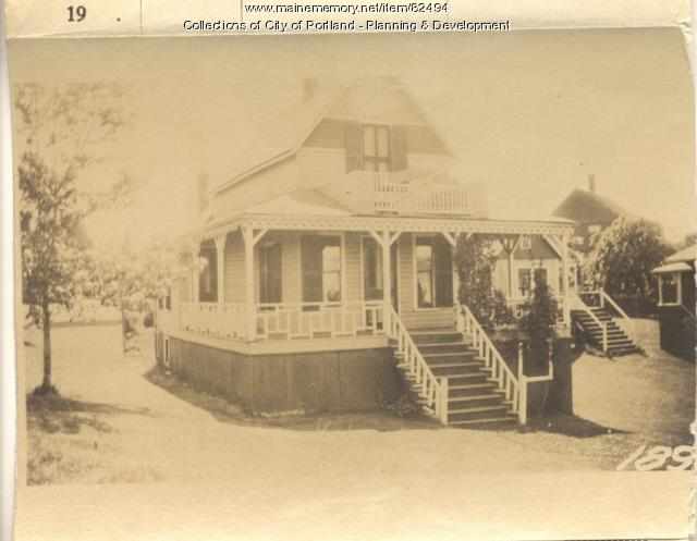 Boothby property, Oakland Avenue, Peaks Island, Portland, 1924