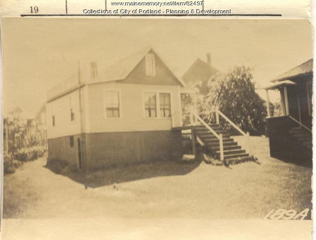 Wilson property, Oakland Avenue, Peaks Island, Portland, 1924