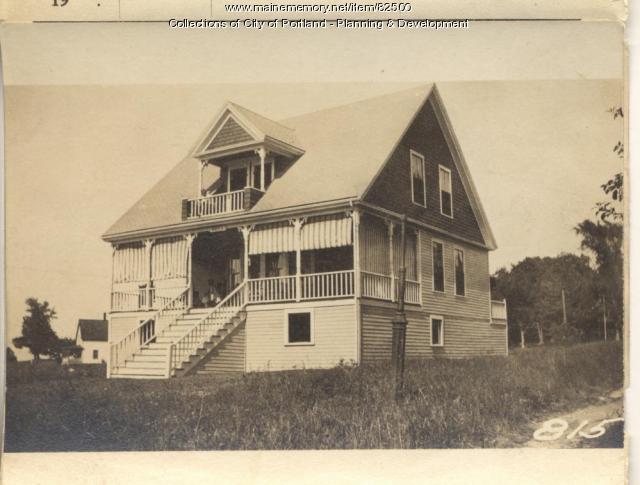 Merrill property, Oaklawn Road, Peaks Island, Portland, 1924
