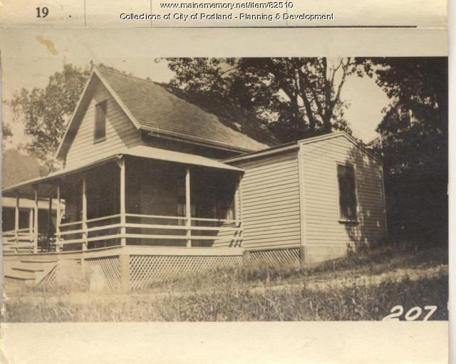 Skillings property, Oaklawn Avenue, Peaks Island, Portland, 1924