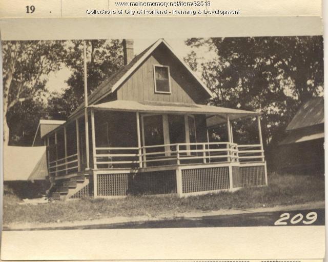 Skillings property, S.E. Oaklan Road, Peaks Island, Portland, 1924