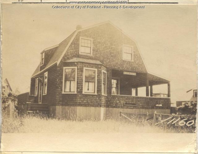 Duncan property, Rear S. Side Maple Street, Peaks Island, Portland, 1924