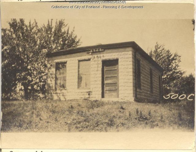 Coburn property, N. Side Park Avenue, Peaks Island, Portland, 1924