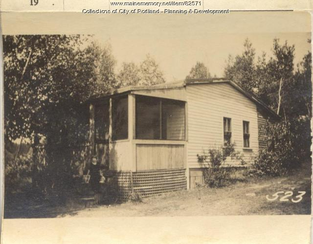 Collins property, N. Side Park Avenue, Peaks Island, Portland, 1924
