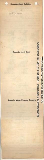 Swan property, N. Side Park Avenue, Central Avenue, Peaks Island, Portland, 1924