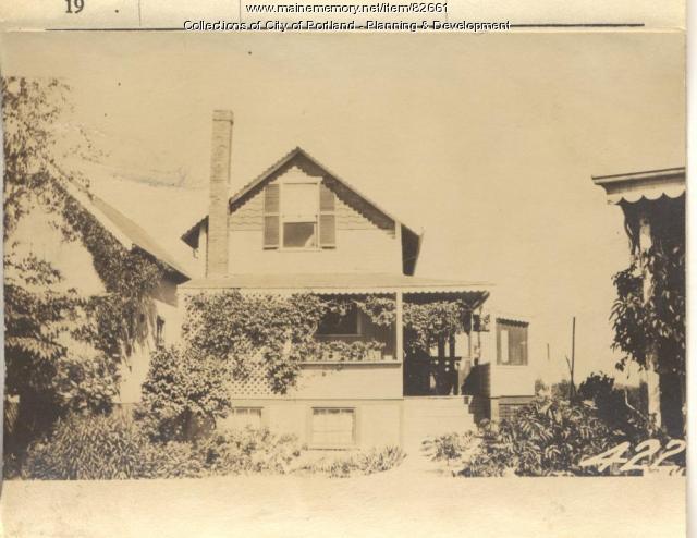Sturgis property, N. Side Pleasant Avenue, Peaks Island, Portland, 1924
