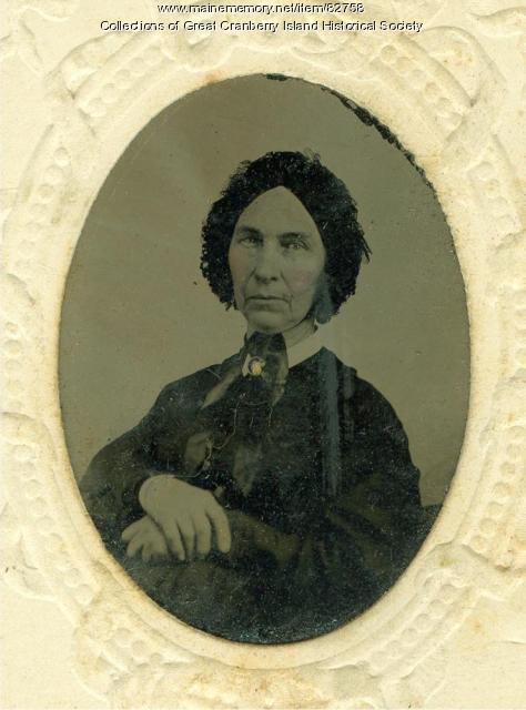 Abigail Cobb Hadlock Spurling Preble, ca. 1870