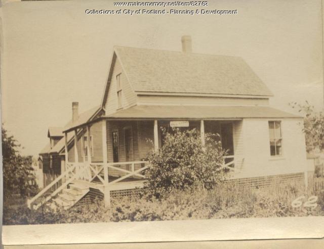Orrok property, Sargent Avenue, Peaks Island, Portland, 1924