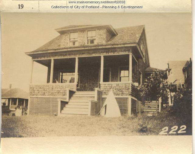 Shepherd property, S. Side 8th Maine Avenue, Peaks Island, Portland, 1924