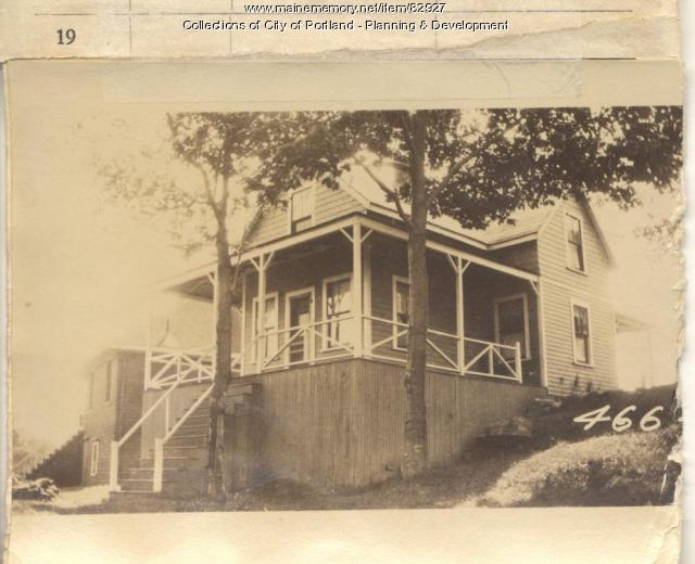 Morris property, S. Side 8th Maine Avenue, Peaks Island, Portland, 1924