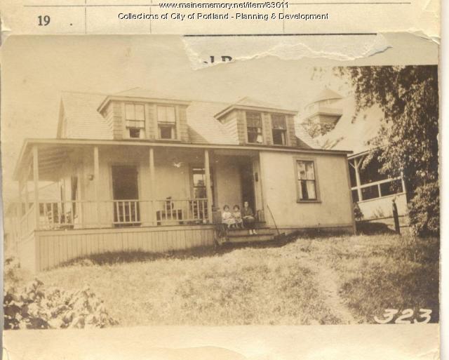 Twomey property, S. Side Seashore, Peaks Island, Portland, 1924