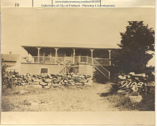 Smith property, N. Side Seashore Avenue, Peaks Island, Portland, 1924