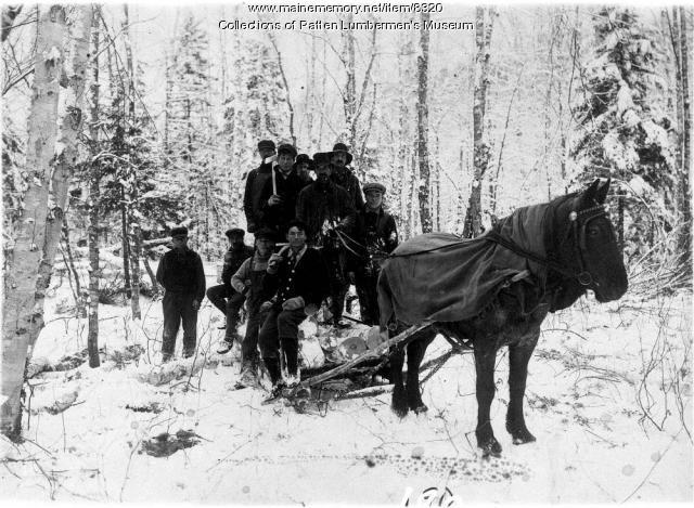 One horse yard crew
