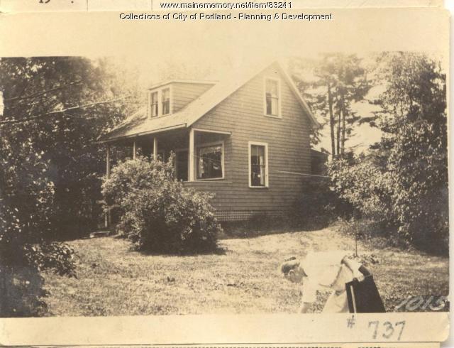 Walker property, Rockbound Park, Peaks Island, Portland, 1924
