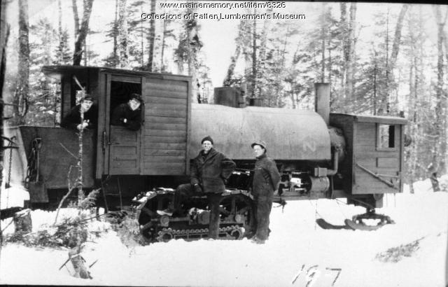 Lombard Loghauler in Woods