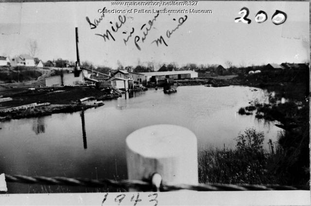 Atlas Plywood Mill in Patten - 1943