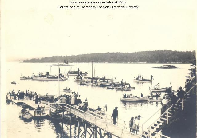 Linekin Bay Yacht Club, ca. 1913