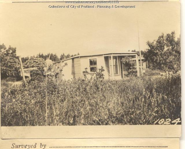 Moore property, Seashore Avenue, Peaks Island, Portland, 1924