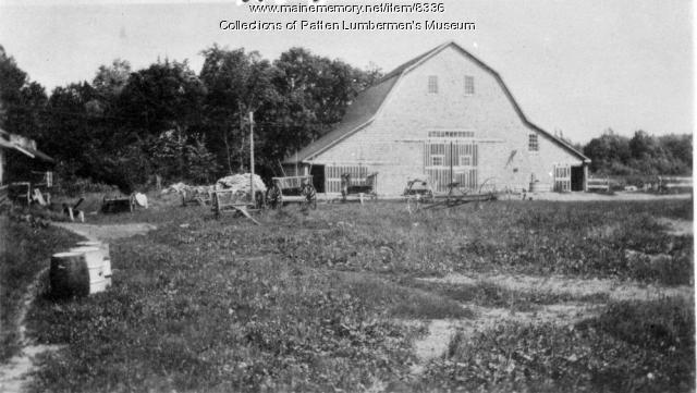 Trout Brook Farm, Piscataquis County, ca. 1900