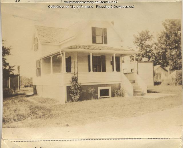 Browning property, N. Side Sterling Street, Peaks Island, Portland, 1924