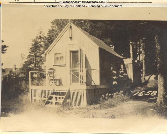 Jeffards property, S. Side Spruce Avenue, Peaks Island, Portland, 1924