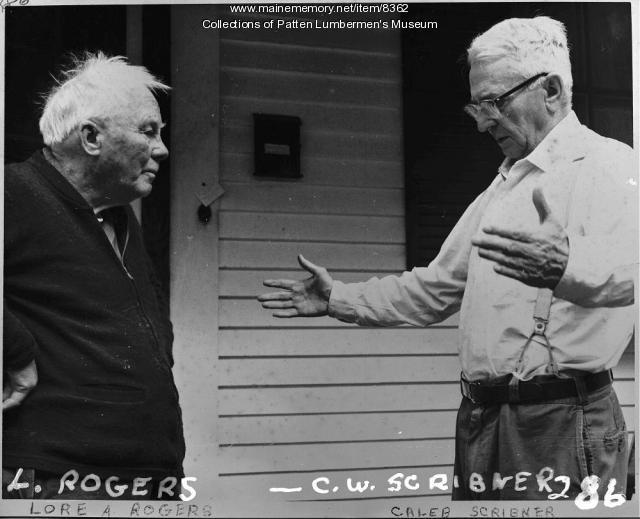 Lore Rogers, Caleb Scribner, Patten, ca. 1960